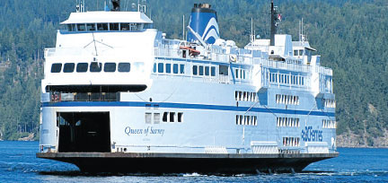 Ferry traffic, revenue up