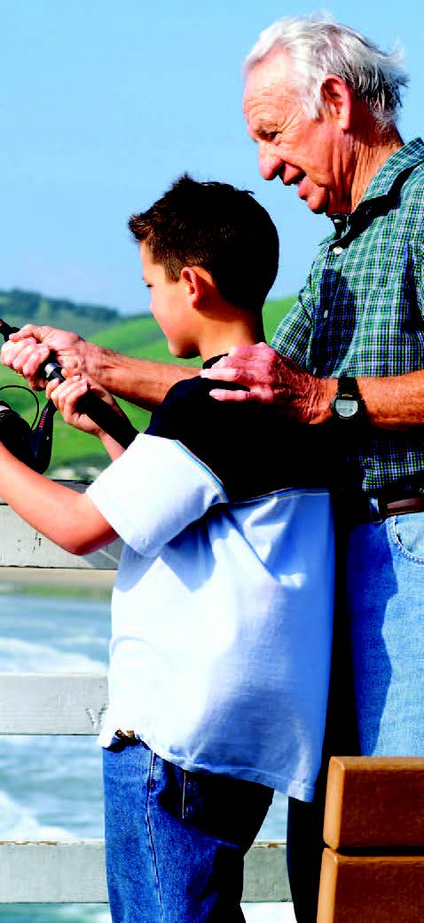 Bond between grandparents and grandkids benefits both