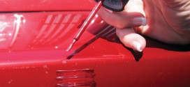 Touching up your car's paint