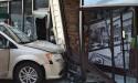 Van crashes into Sechelt restaurants