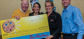 Tim Hortons donates to Nutcracker production