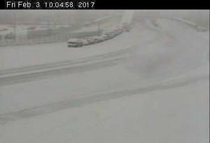 Langdale terminal snow