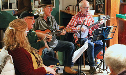 Ukuleles popular on the Coast