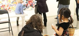 Young people's art show opens