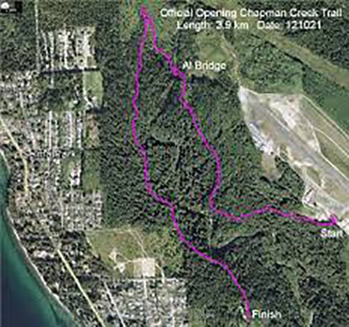 Sechelt seeks Chapman Creek Trail right-of-way