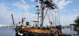 Stage show will sail into Gibsons wharf