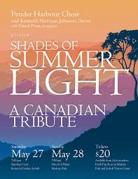 Shades of Summer Light concert at Botanical Garden