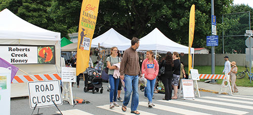Business association in dispute with Sechelt farmers market