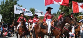 A gorgeously sunny Canada Day Parade