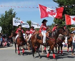 P 1 Canada Day Cowgirls
