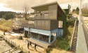 """Daring"" two-storey residence proposed for Gibsons waterfront"