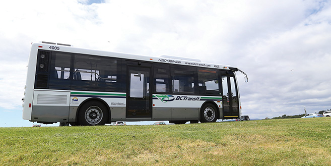 New transit buses arriving