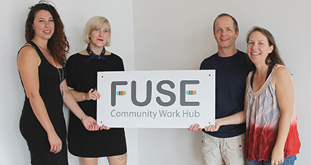 Work Hub set to re-open after flood