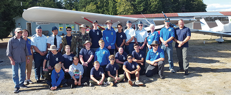 Blue skies for 'All About Flight' day
