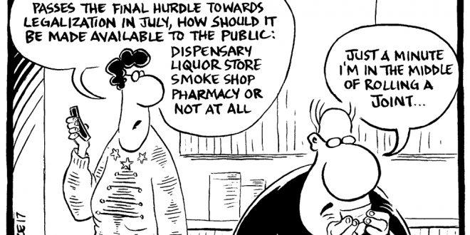 Weekly cartoon – December 7
