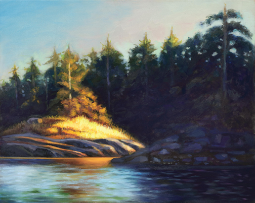 'Capturing light' is the aim of painter featured at GPAG