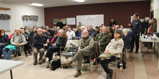 Residents fight logging plan