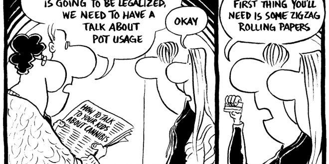 Weekly cartoon February 15