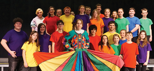 Joseph and the Amazing Technicolor Dreamcoat at Chatelech